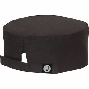 Chef Works Cool Vent Black Beanie 4ct