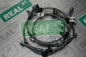 Russell Stainless Steel Brake Line Kit Honda Civic 92 95 Rear Disc No Abs 684600