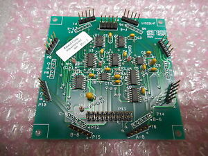 Svg Thermco 173570 001 I o Pcb Assly Compatible W svg Thermco Vtr 7000 Thermal P