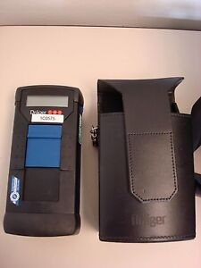 Drager Cms 6405250 Gas Analyzer Unit W Case Working Condition
