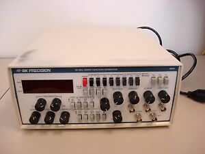 Bk Precision 4040 20mhz Sweep Function Generator Working Condition