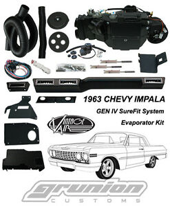 Vintage Air 1963 Chevy Impala Non Factory A c Air Conditioning Evaporator Kit