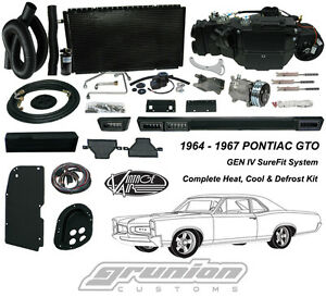 Vintage Air 1964 67 Pontiac Gto W O Ac Air Conditioning Heat Defrost Kit 961067