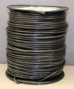Cme Wire Cable 10awg Stranded Machine Tool Black 500 Feet New C 10 Thhn 500ft