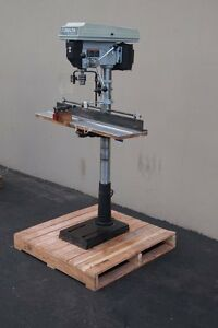 Delta Dp400 Shopmast 16 1 2 Drill Press 12 Speed woodworking Machinery