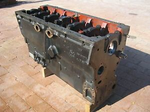 Allis Chalmers 670 I 426 3700 Engine 6 Cyl Block 4035303 7050 7060 7080 7580