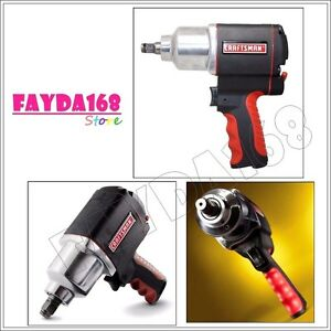 Compact Craftsman 1 2 Impact Air Wrench Gun Single Hammer Driver Repair Home Us