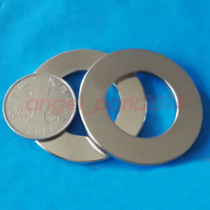 Wholesale 43mm X 3mm Hole 25mm Ring Round Neodymium Permanent Magnets