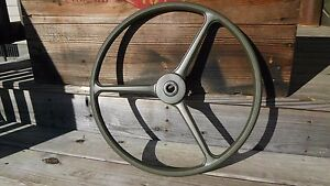 Jeep Willys M38 M38a1 M170 Mb Gpw Solid Green Steering Wheel Correct New