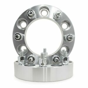 2 Chevrolet Wheel Spacers Adapters 1 5 Thick 7 16 20 Studs Fits K10 Six Lug