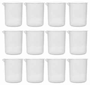 Beaker Euro Design Polypropylene 1000ml X 20ml Pack Of 12