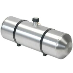 10 Inches X 24 Spun Aluminum Gas Tank 8 Gallons With Cap Gauge All In One