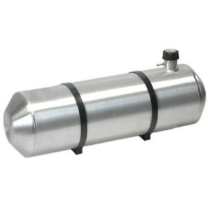10 Inches X 26 Spun Aluminum Gas Tank 8 25 Gallons With Cap Gauge All In One