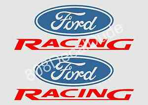 2ea 8 L Ford Mustang Racing Decal Trd Stickers Decal Sticker Decals New