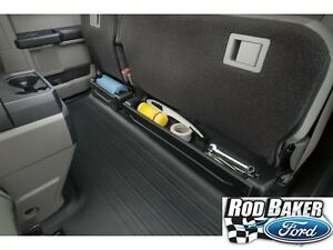 15 18 Ford F 150 Underseat Cargo Organizer Compartment Black Oem Fl3z78115a00aa