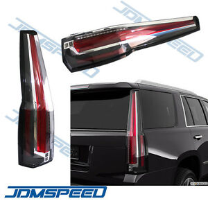 For 2015 2016 2017 Chevrolet Tahoe Suburban Tail Lights Led Brake Cadillac Style