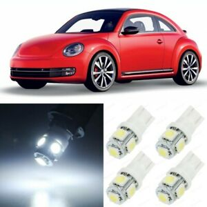 7 X White Interior Led Lights Package For 1998 2011 Volkswagen Vw Beetle tool