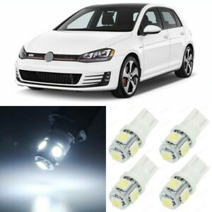13 X White Interior Led Lights Package For 2010 2017 Volkswagen Vw Gti Golf Mk6