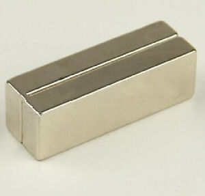 2pcs Large Ndfeb Magnet Bar Neodymium Magnets 60x40x20 Mm 60mm X 40mm X 20mm N50