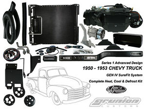 Vintage Air 1950 1953 Chevy Truck W V8 Swap Air Conditioning Defrost Heat Kit