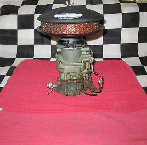 Vintage Flathead Ford Low Profile Air Cleaner Silencer Reconditioned Hotrod Hp