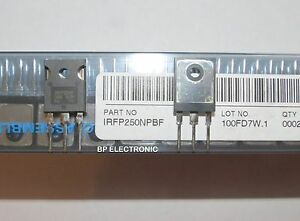 Irfp250 Irfp250n Ir Power Mosfet N channel 30a 200v 5pcs With Heatsink Compound