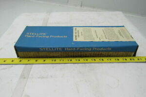 Stellite Haynes H 52 1 4 x14 Hard Facing Welding Rod Electrode 10lb Box