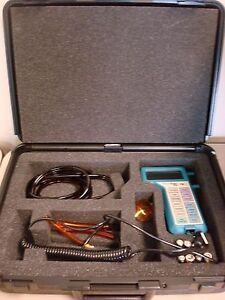 Tsi Model 8360 Velocicalc Plus Air Velocity Meters With Case