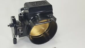Black 102mm Ls Throttle Body 4 Bolt Ls1 Ls2 Ls3 Ls6 Lsx Warr Performance