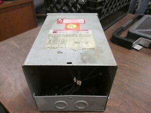 Cutler hammer Dry type Distribution Transformer S10n11s02n 2kva Used