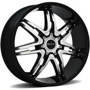 Onyx 904 26 X 9 5 Black Rims Wheels Oldsmobile Cutlass Rwd 5h 10