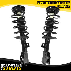 2010 2017 Chevrolet Equinox Front Complete Struts Coil Springs W Mounts Pair