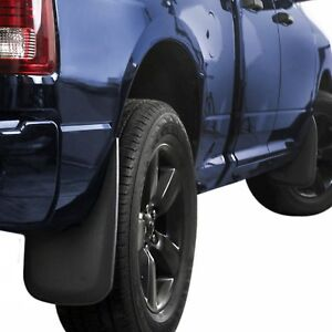 Fits Dodge Ram Mud Flaps 2009 2018 Guards Splash Guards Molded 4 Pc Front Rear