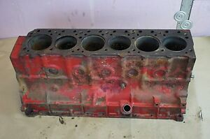 Ih International Harvester Farmall 460 D236 Diesel Engine Motor Block Crankcase