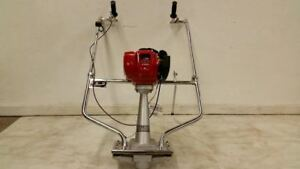 New Bulldog Concrete Power Vibrating Screed Honda 4 Stroke Gas Cement