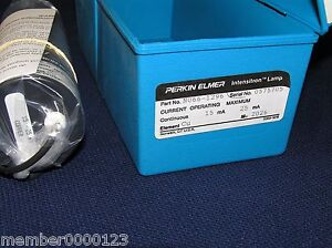 Perkin Elmer Intensitron Atomic Absorption Aa Lamp Copper Cu No N066 1296