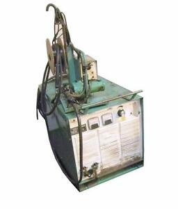 L tec 650 Cv Welder On Wheels 230 460v W Union Carbide Mig 35 Feeder