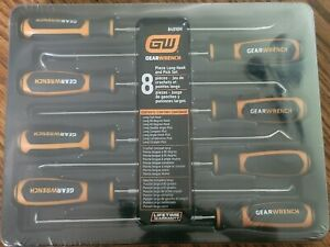 Gearwrench 8pc Long Hook And Pick Set 84010