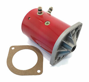 New Plow Motor W Gasket For Fisher Western Unimount Ultramount Snow Plow Blade