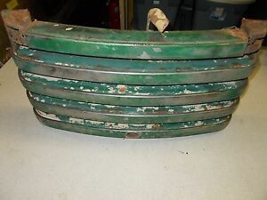 John Deere Grille Vintage Possibly Antique free Shipping