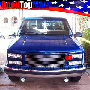 For Gmc C k 1500 2500 3500 1988 1993 Upper Main Replacement Grille 1pc W o Logo