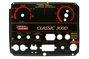 Oem Lincoln Classic 300d Faceplate Nameplate l10849 3 Bw1488