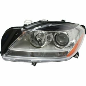 Halogen Headlight For 2015 Mercedes Benz Ml250 Left W Bulb
