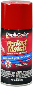 Dupli Color Bty1618 Barcelona Red Metallic Toyota Auto Paint 8oz