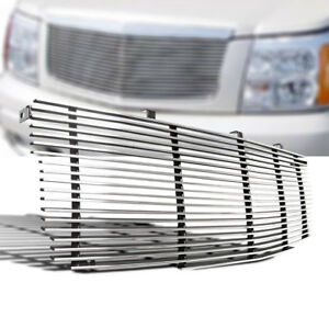 Cadillac 2002 2006 Escalade Esv Ext Suv Polished Front Upper Billet Grille New
