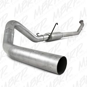 Mbrp 4 Turbo Back Exhaust For 04 5 07 Dodge Ram 2500 3500 Diesel Muffler S6126p