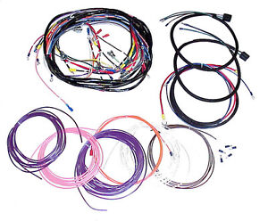 1953 1954 1955 Wiring Harness Chevy Gmc Pickup Truck With An Alternator