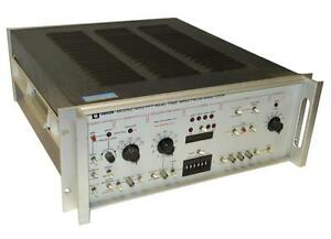 Unigon 4512 Fft Real Time Spectrum Analyzer Sold As Is
