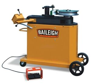 Baileigh Programmable Pipe And Tubing Bender 2 3 Mild Steel New
