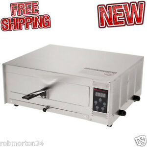 Digital Pizza Oven Cook Hot Fast Commercial Stainless Steel 12 Inch Bake Bar Fan